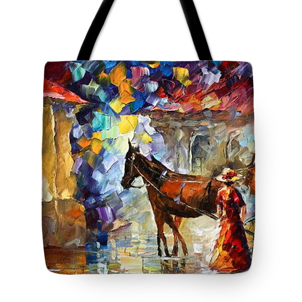 Momentary Stop Tote Bag by Leonid Afremov