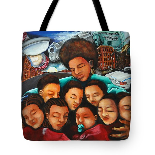 Momma Tote Bag by Ka-Son Reeves
