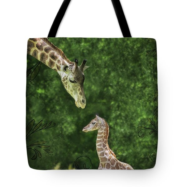 Momma Loves Me Tote Bag