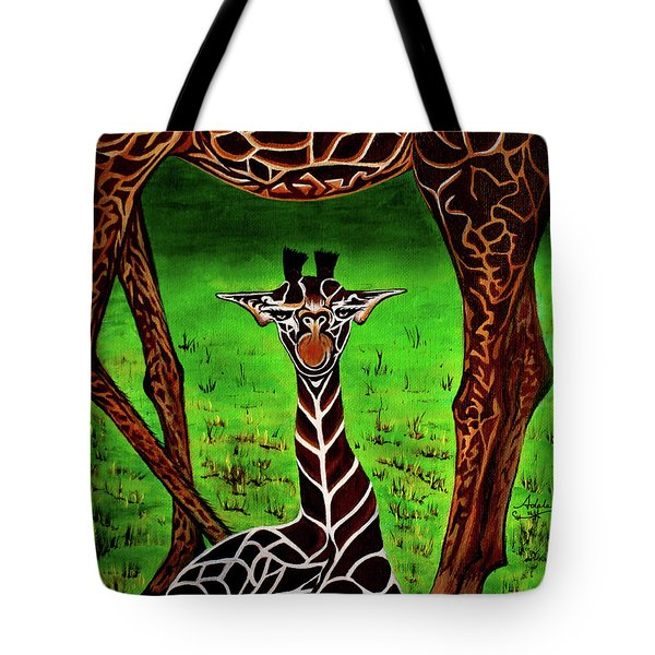 Momma's Boy Tote Bag by Adele Moscaritolo