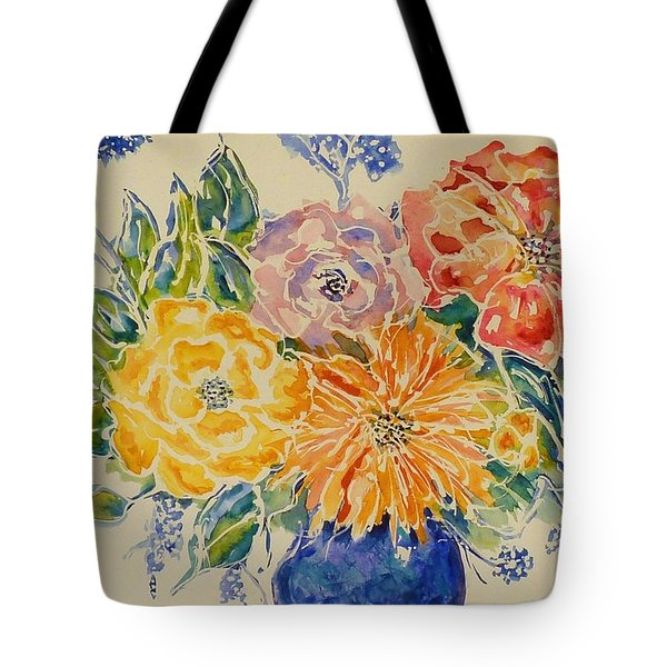Bouquet Of Love Tote Bag