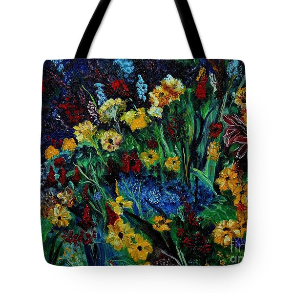Moms Garden II Tote Bag by Julie Brugh Riffey