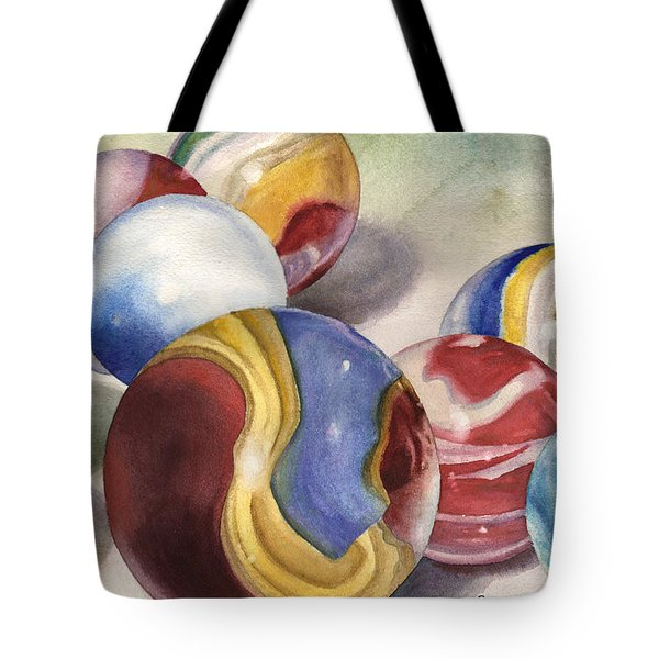 Mom's Marble Shooter Tote Bag