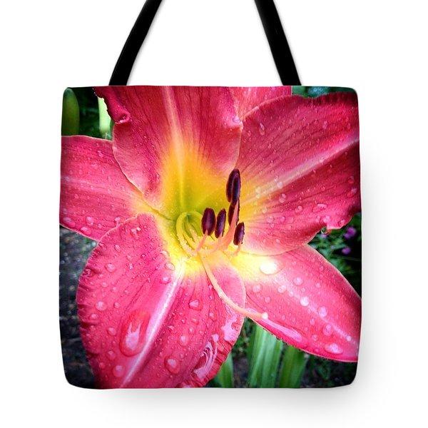 Mom's Secret Garden Tote Bag