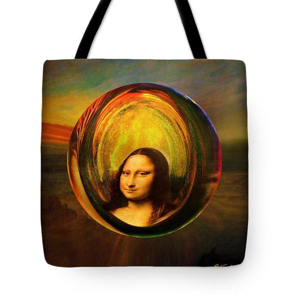 Mona Lisa Circondata Tote Bag