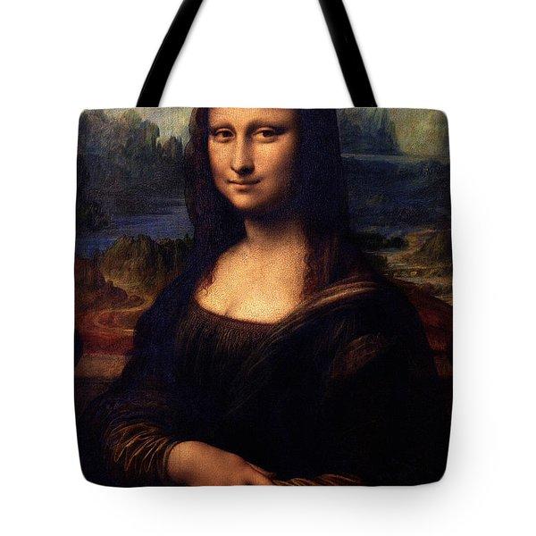 Tote Bag featuring the painting Mona Lisa II by Karon Melillo DeVega