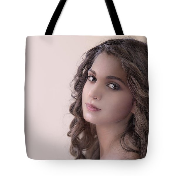 Mona Lisa Smile Tote Bag