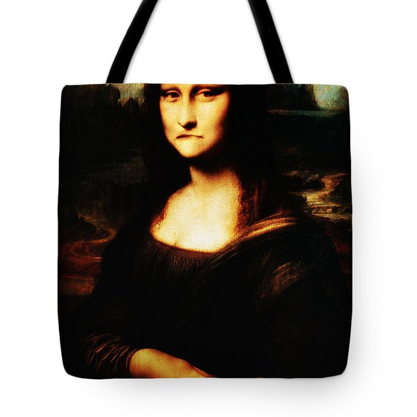 Mona Lisa Take One Tote Bag by Bill Cannon
