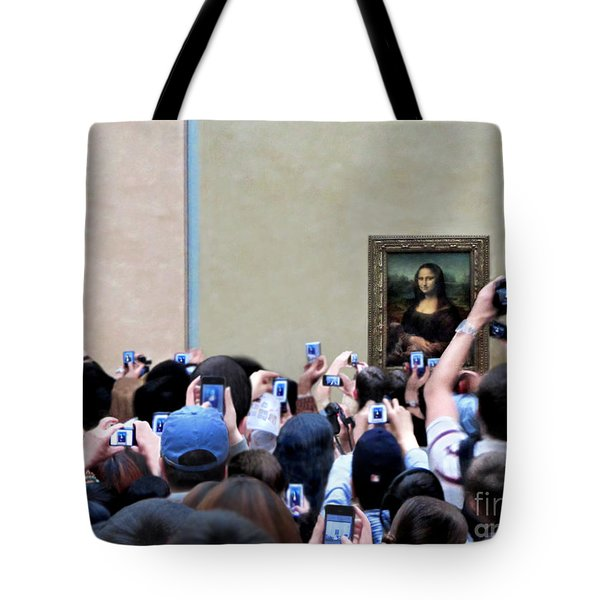 Mona Mobbed Tote Bag by Jennie Breeze