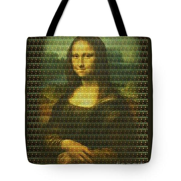 Mona Mosaic Tote Bag
