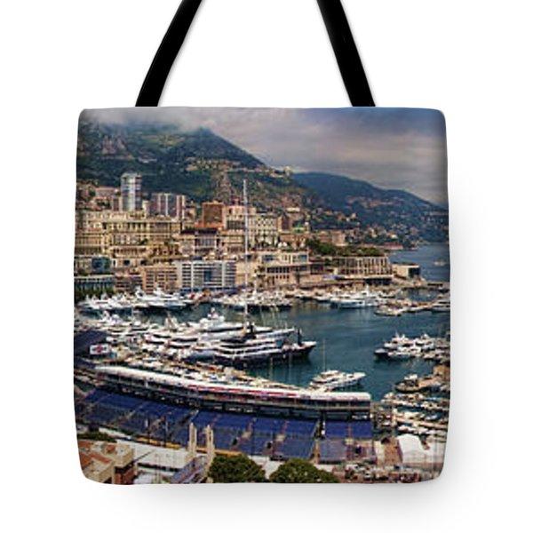 Monaco Panorama Tote Bag