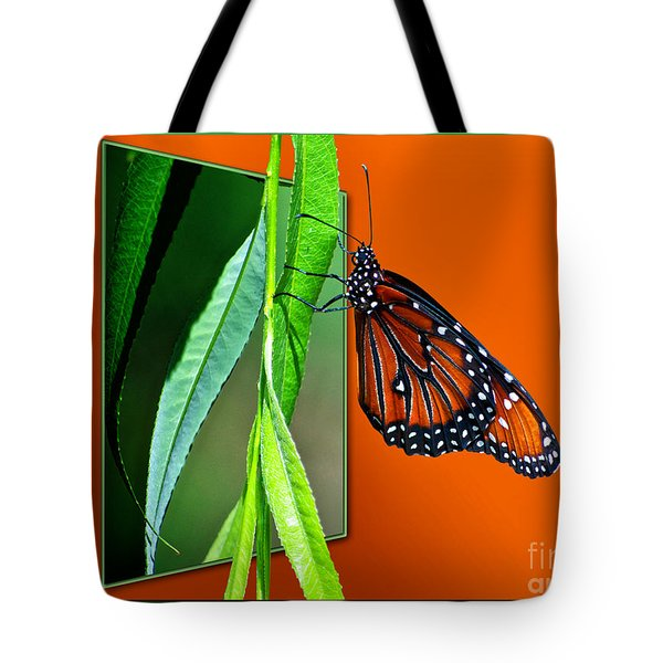 Monarch Butterfly 01 Tote Bag by Thomas Woolworth