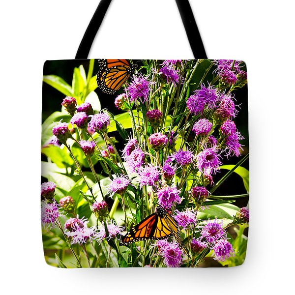 Monarch Butterfly Couple Tote Bag