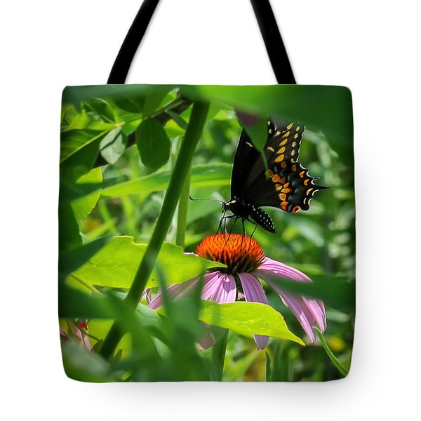 Monarch Butterfly Deep In The Jungle Tote Bag