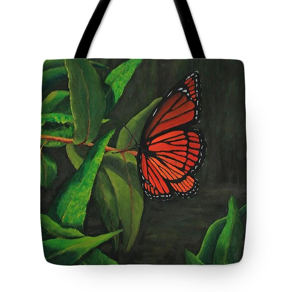 Viceroy Butterfly Oil Painting Tote Bag