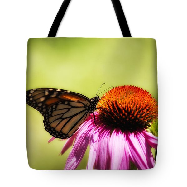 Monarch Glow Tote Bag by Shelly Gunderson