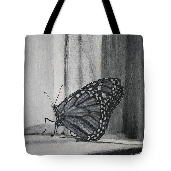 Monarch In The Window Tote Bag