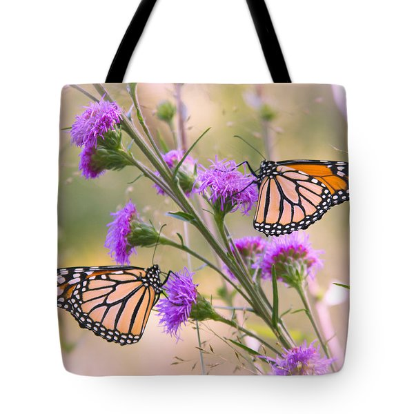 Monarch Pair Tote Bag