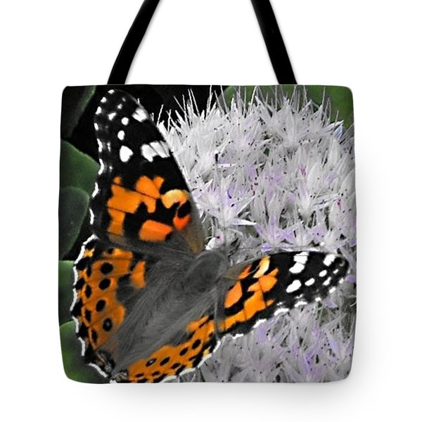 Tote Bag featuring the photograph Monarch by Photographic Arts And Design Studio