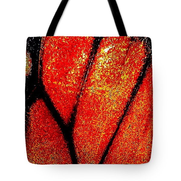 Monarch Wing Tote Bag