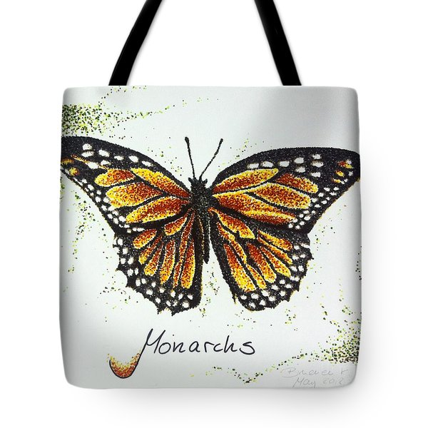 Monarchs - Butterfly Tote Bag by Katharina Filus