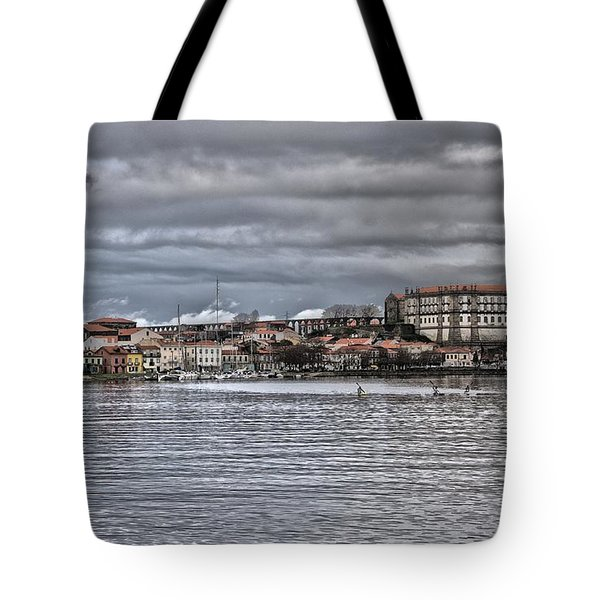 Monastery From The River Tote Bag