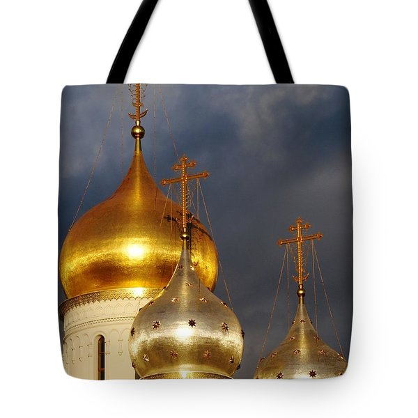 Monastery Tote Bag by Julia Ivanovna Willhite