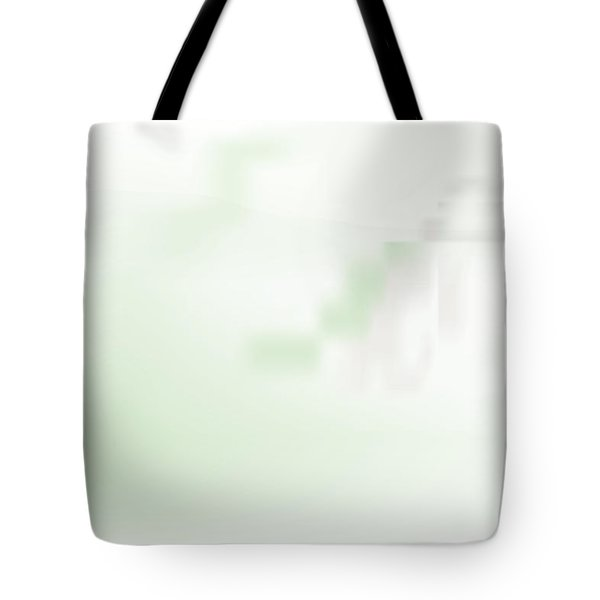 Tote Bag featuring the digital art Monastery by Kevin McLaughlin