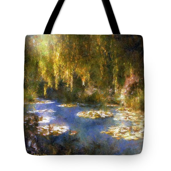 Monet After Midnight Tote Bag by RC deWinter