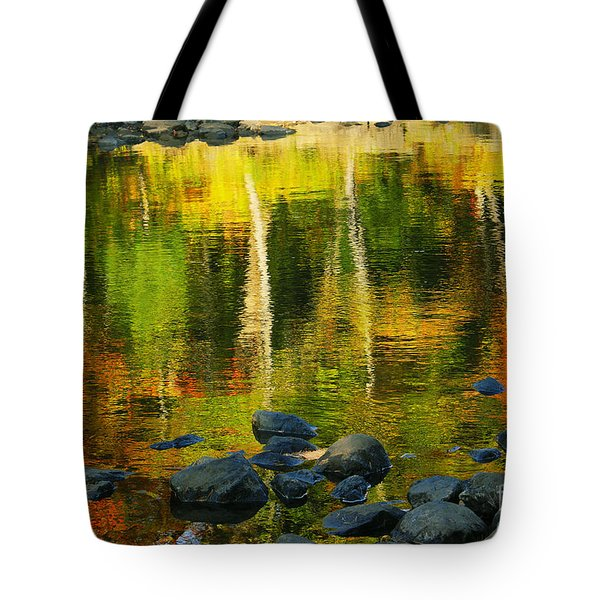 Monet Autumnal 02 Tote Bag by Aimelle