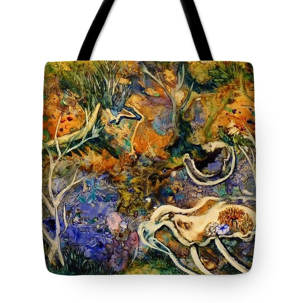 Monet Under Water Tote Bag
