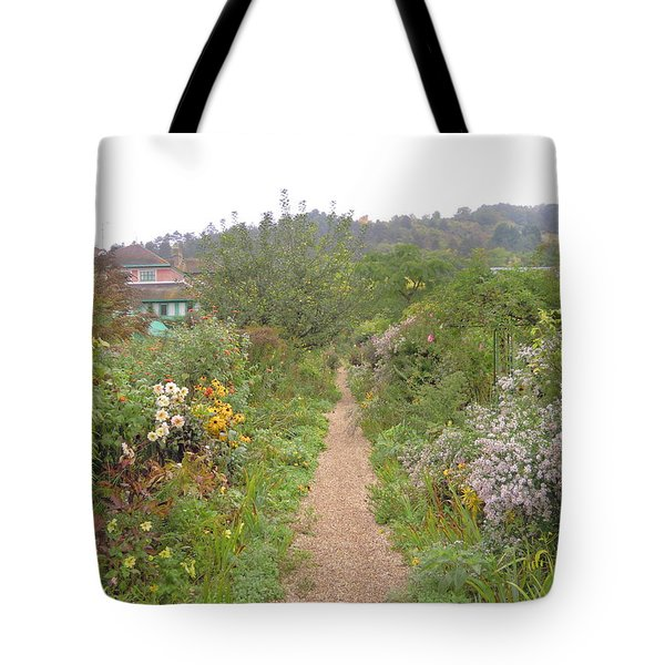 Monet's Garden 5 Tote Bag