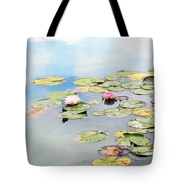 Tote Bag featuring the photograph Monet's Garden by Brooke T Ryan