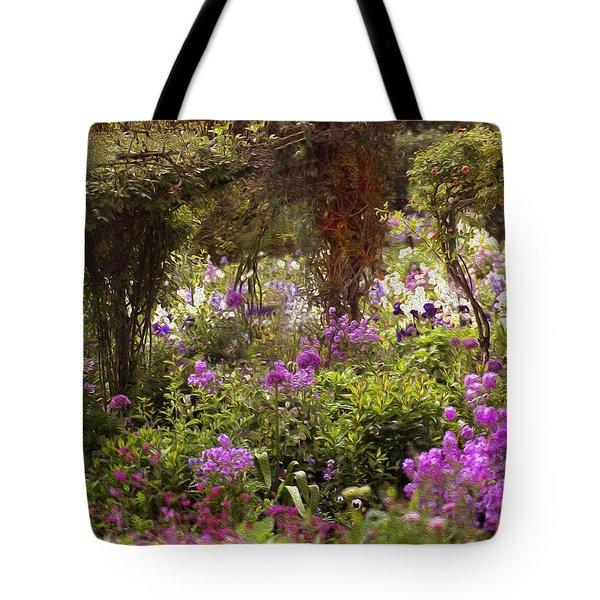 Monet's Garden - Impression Tote Bag