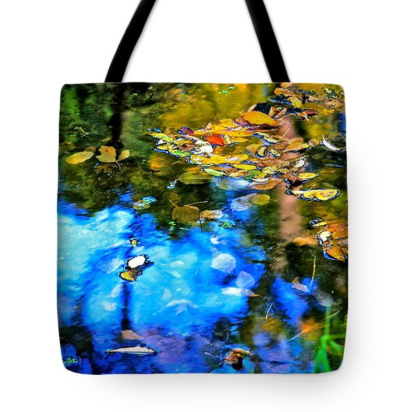 Tote Bag featuring the photograph Monet's Garden by Ira Shander