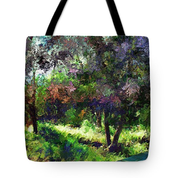 Monet's Garden Tote Bag by Terence Morrissey