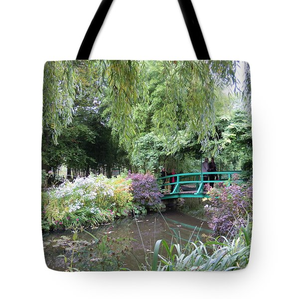 Monet's Japanese Bridge Tote Bag