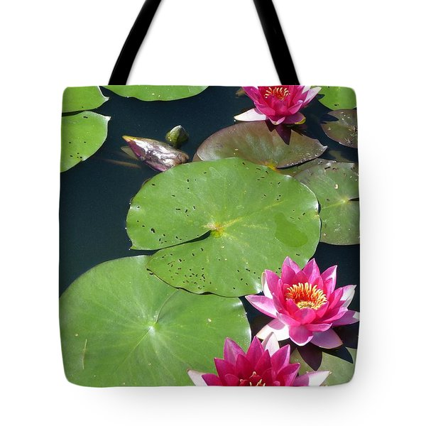 Monet's Waterlilies IIi Tote Bag