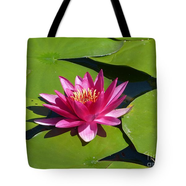 Monet's Waterlily Tote Bag