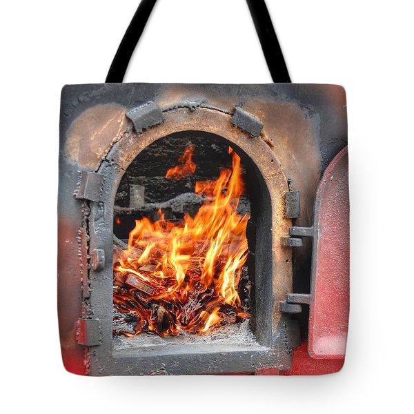 Money 2 Burn Tote Bag