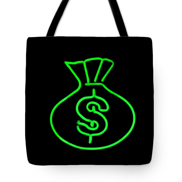Money Bag Tote Bag by Art Block Collections