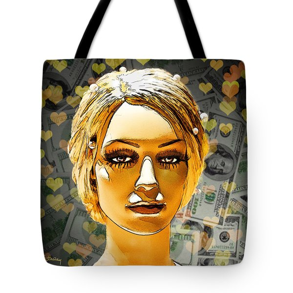 Money Love Tote Bag by Chuck Staley