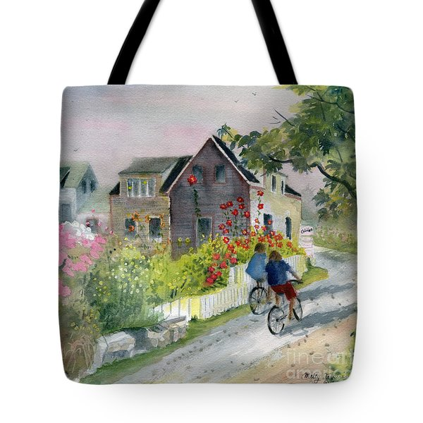 Monhegan In August Tote Bag