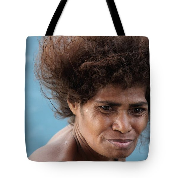 Monica From Papua New Guinea Tote Bag