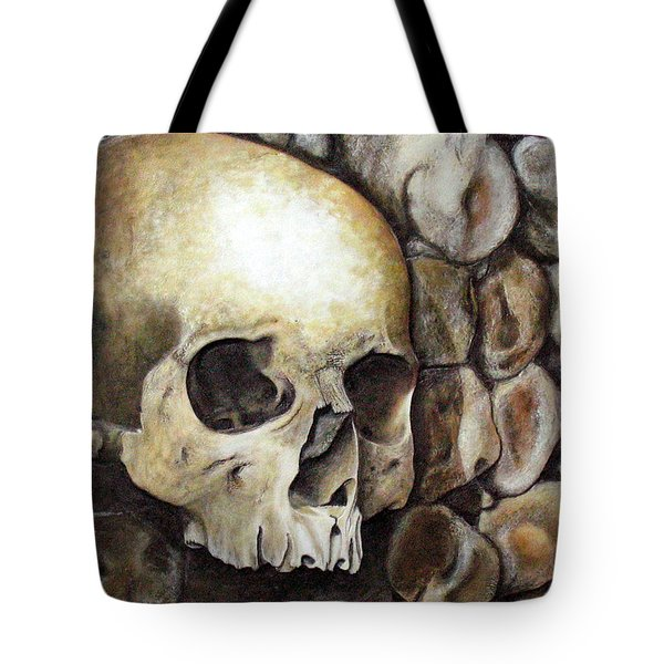 Monk Relic Tote Bag by Elaine Booth-Kallweit