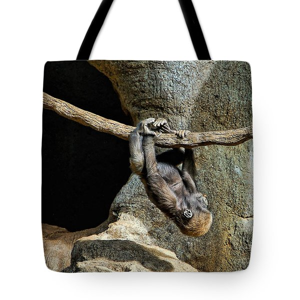 Monkey Business Tote Bag by Kathleen K Parker