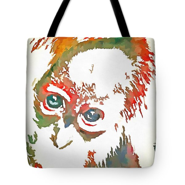 Monkey Pop Art Tote Bag