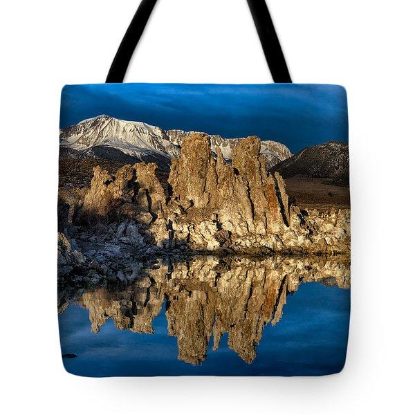 Mono Lake In March Tote Bag