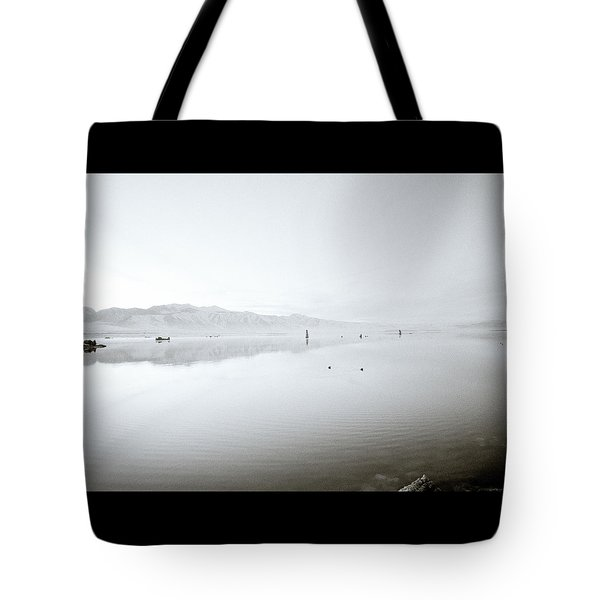 Mono Lake Serenity Tote Bag by Shaun Higson