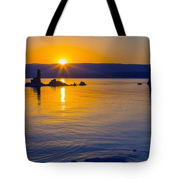 Mono Lake Sunrise Tote Bag